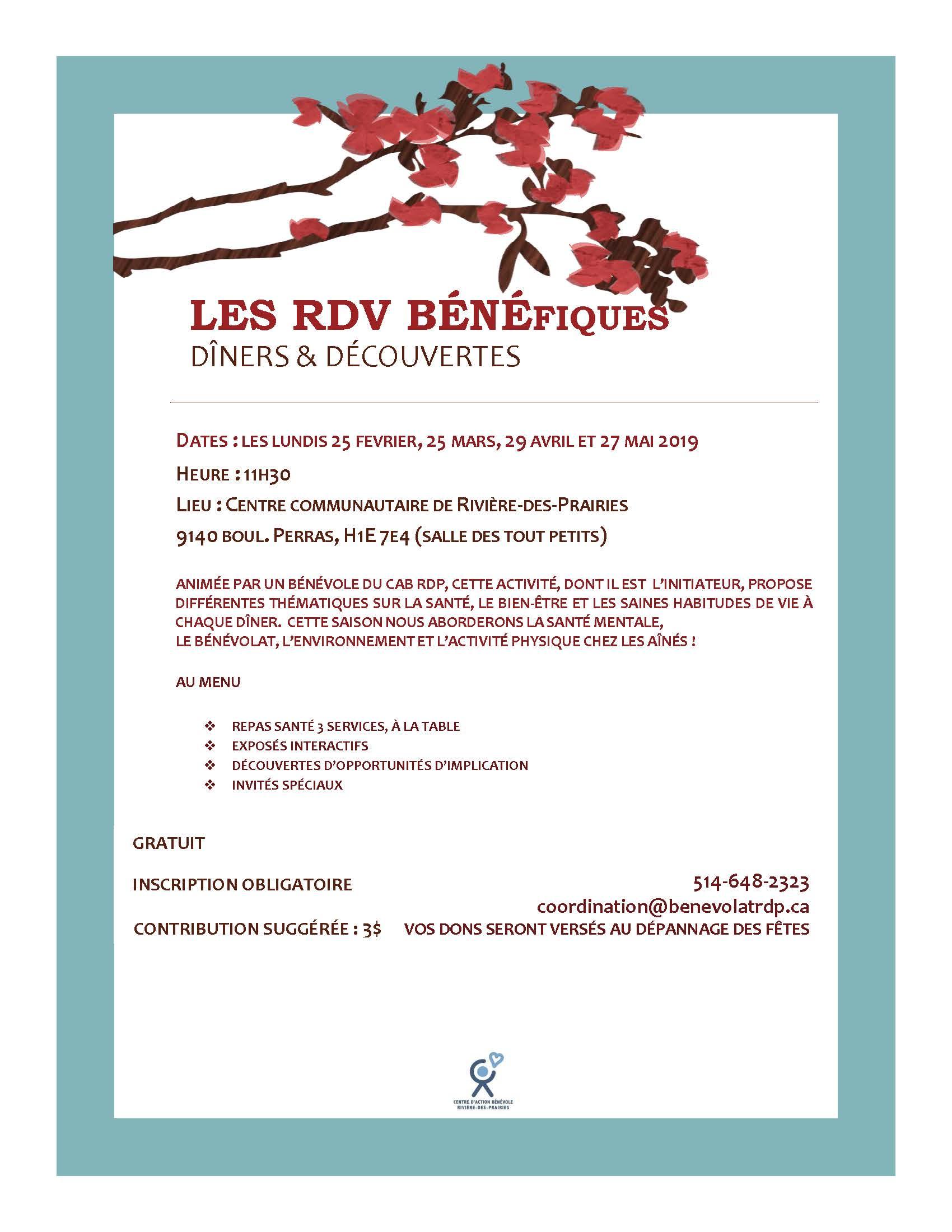 Flyer repas communautaires CABRDP 2019