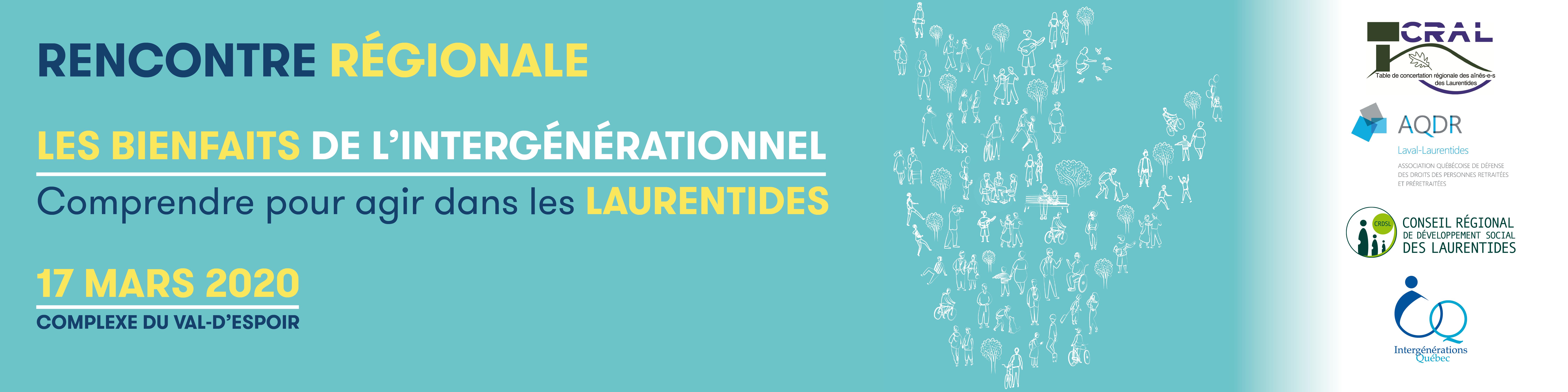Bandeau Rencontre régionale Laurentides